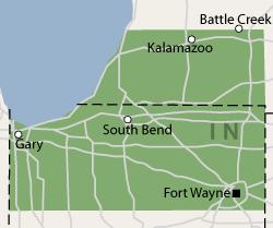 Indiana Service Area